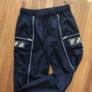LF the brand size M track pant with zippers